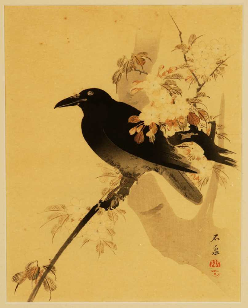 Two Japanese Watercolors Of Birds