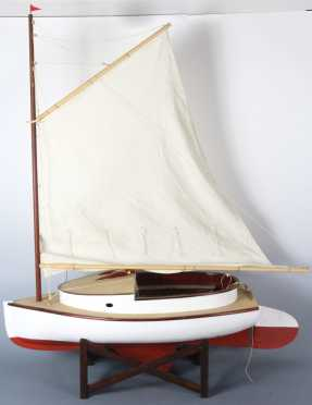 Ship Model - Cape Cod Cat Boat