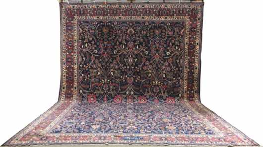 Kashan Room Size Oriental Rug
