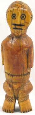 Lega Ivory Male Iginga Figure