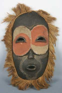 Republic of Congo Decorated Mask