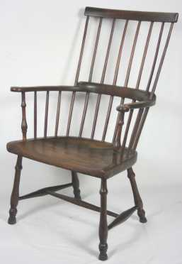 English Comb Back Arm Chair