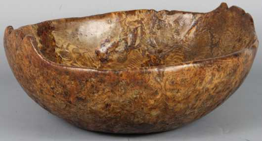 Native American Burl Bowl, 18th century