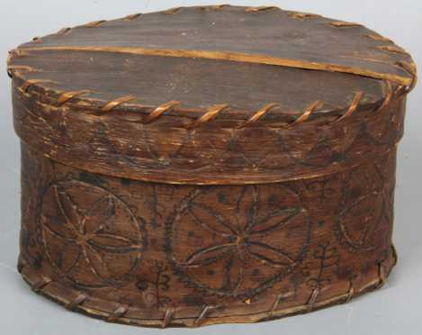 Native American Bentwood Box