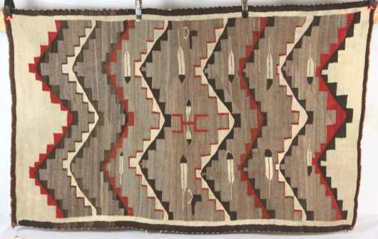 Navajo rug, early 20th century