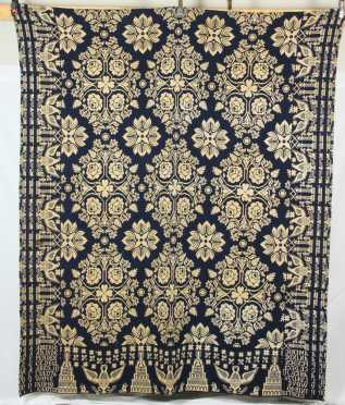 Summer/Winter 1840 Coverlet