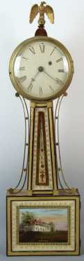 Massachusetts Federal Banjo Clock