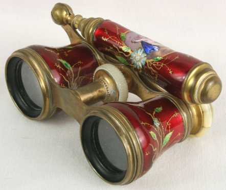 "French Opera Glasses, marked, ""Lefils, Paris,"""
