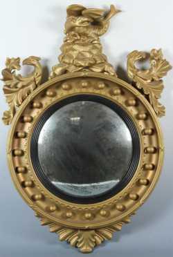 Girandole Convex Mirror