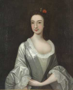 Colonial Period Portrait of a Young Woman