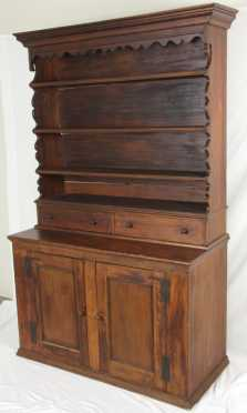 Scalloped Sided Cupboard