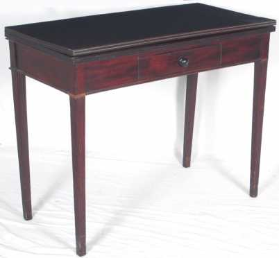 Mahogany Hepplewhite Card Table
