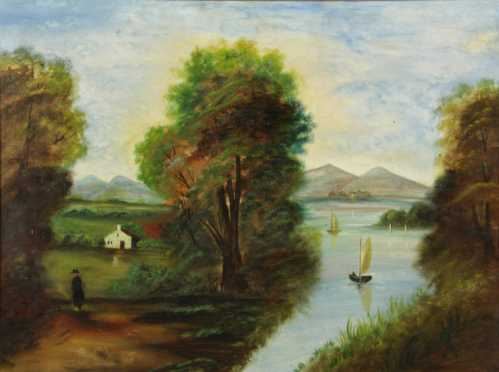 Hudson Valley School Painting