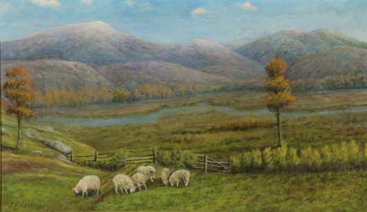 B.F. Kellog, landscape