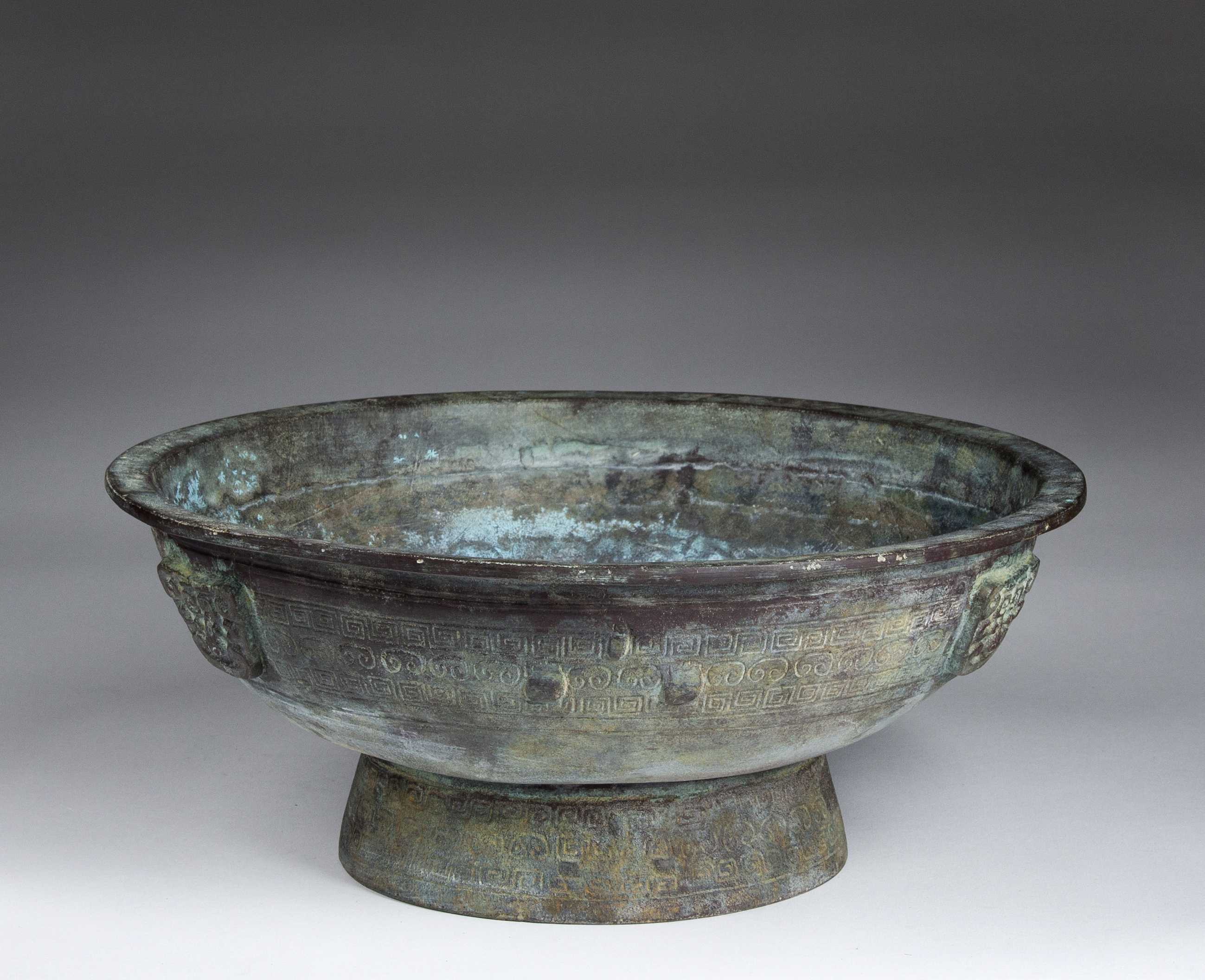 Chinese Ancient Style Bronze Vessel