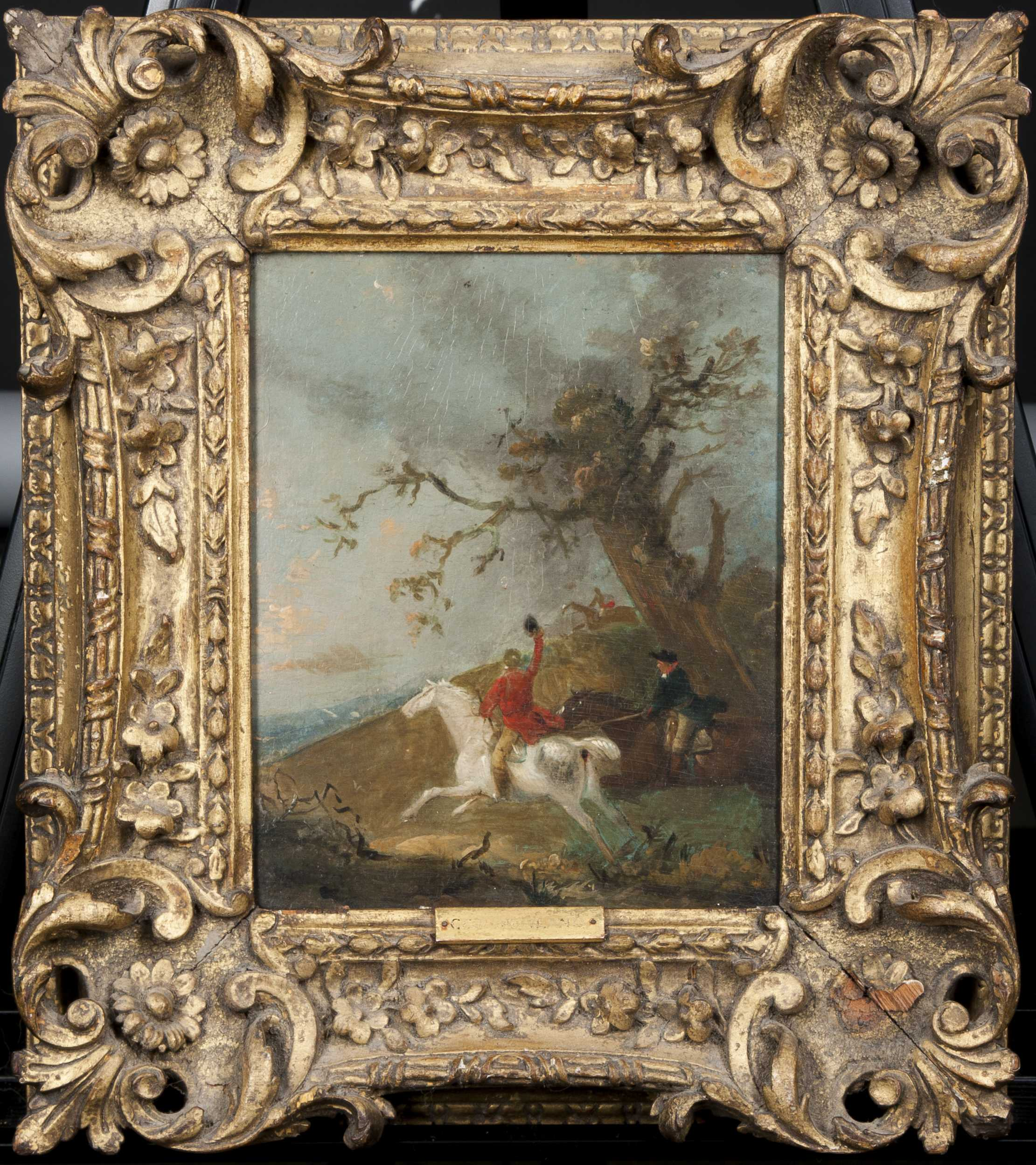 George Morland Attributed Painting