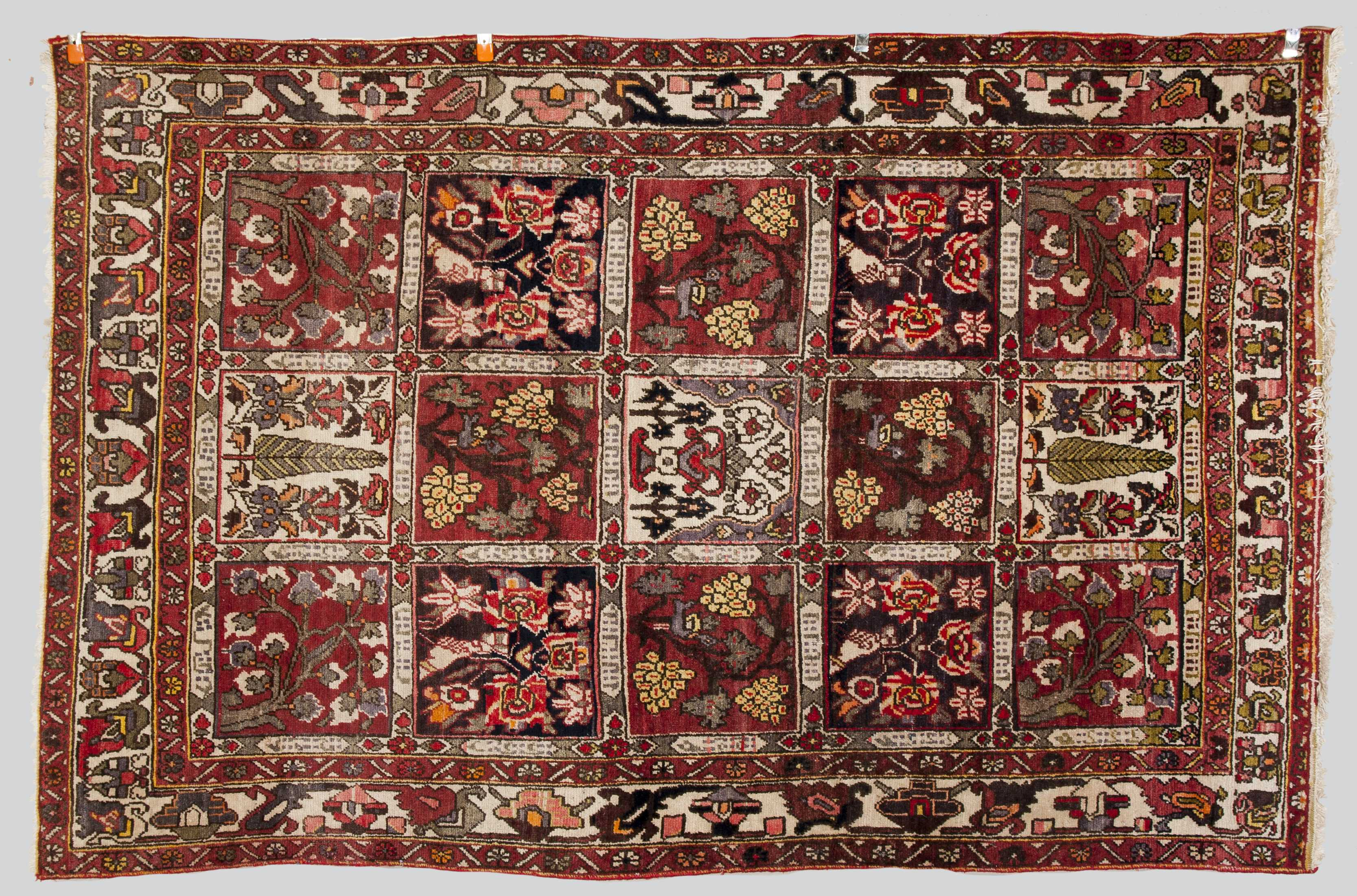 Awesome Hamadan Oriental Scatter Rug