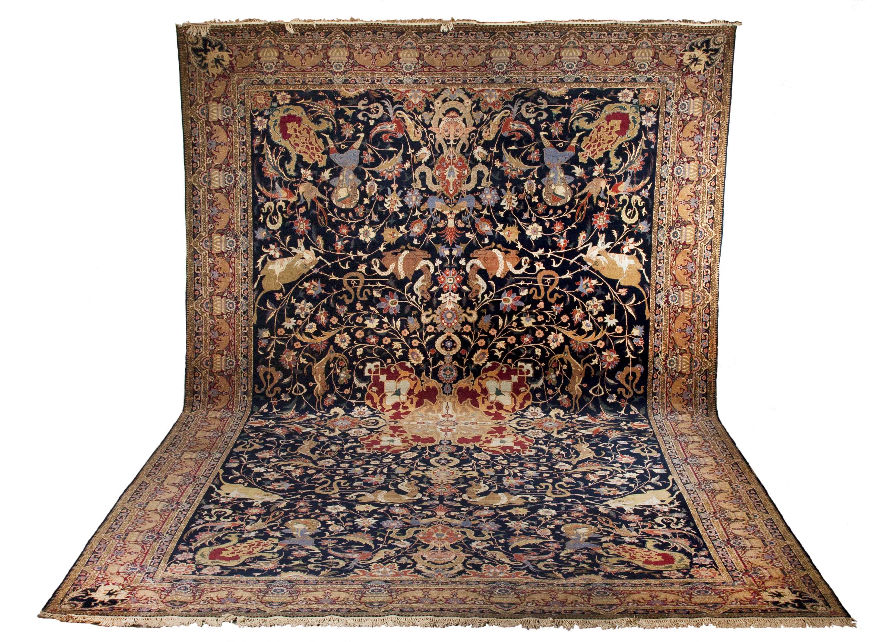 Tabriz Room Size Oriental Rug