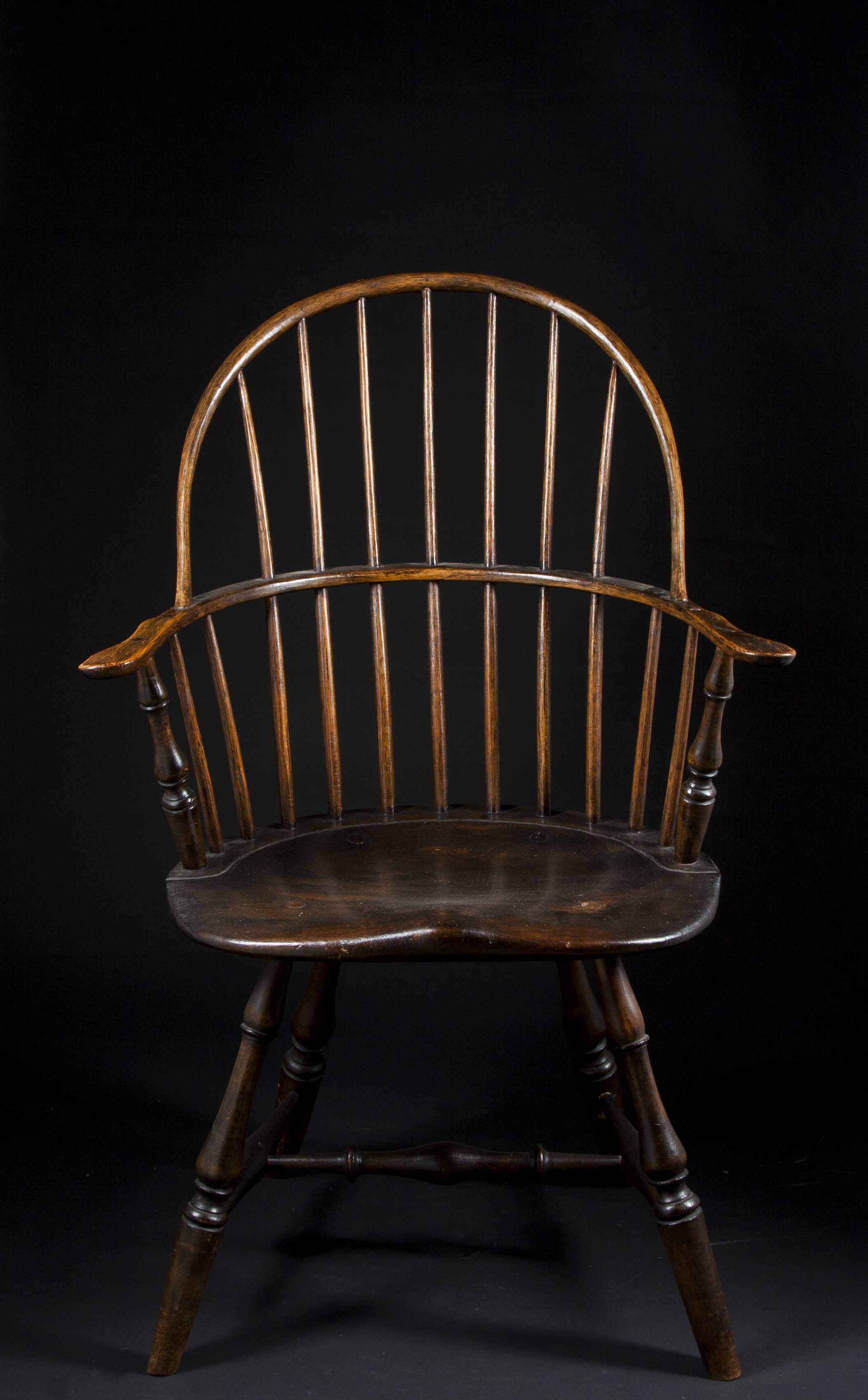Windsor Arm Chairs ~ Bow back windsor arm chair