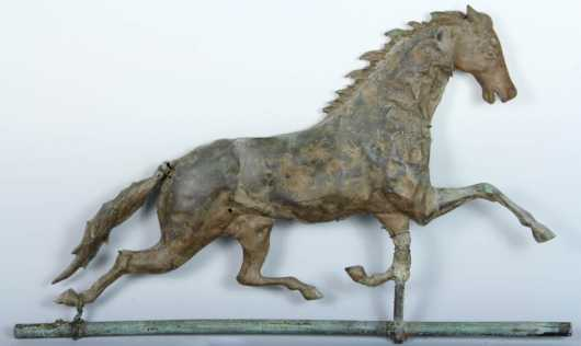 Cast Head Horse Weathervane