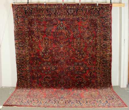 Room Size Sarouk Oriental Rug