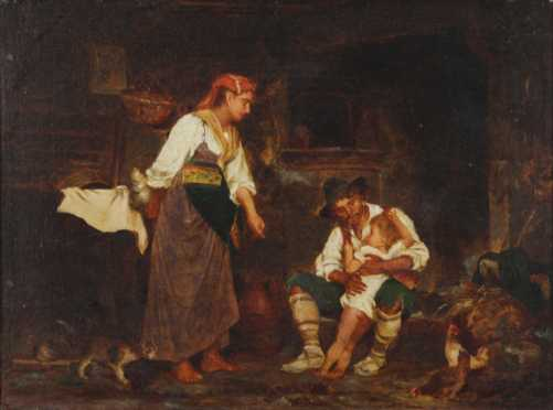 Late 19th Century Continental Painting