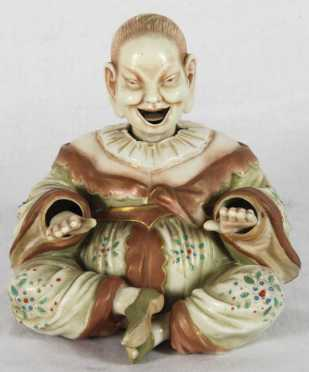 English Porcelain Nodding Figure