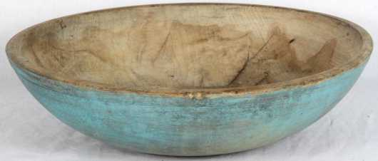 Blue Painted Bowl