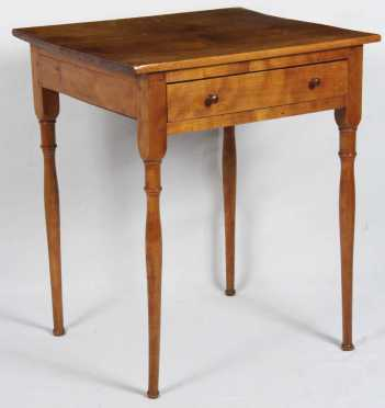 Birch Sheraton One Drawer Stand