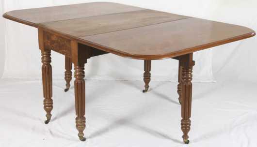 Sheraton Mahogany Drop Leaf Table