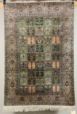 Silk Scatter Oriental Rug