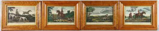 Four W. Allen Hunt Prints