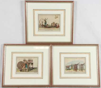 "Three French ""DeMeure"" Prints"