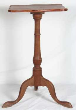 Serpentine Queen Ann Candle Stand