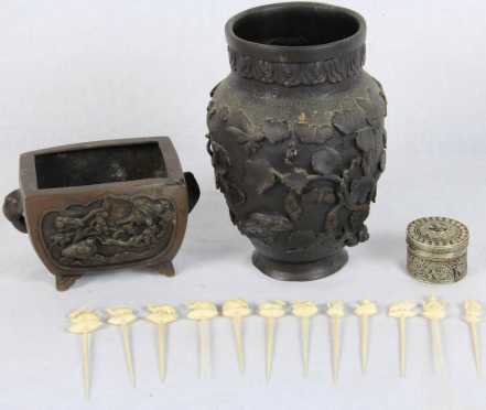 Lot of Miscellaneous Chinese and Middle Eastern