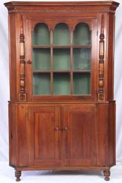 2-Part Hackensack Corner Cupboard