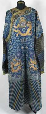 Chinese Dragon Decorated Summer Robe