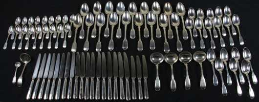 John Whiting English Silver Service