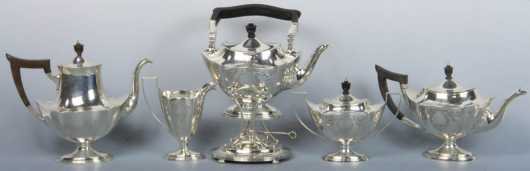 Gorham Sterling Tea Set