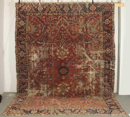 Heriz Oriental Room Size Rug