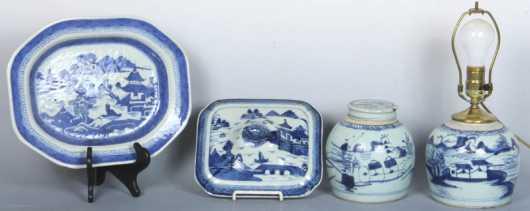 Canton Porcelain Lot