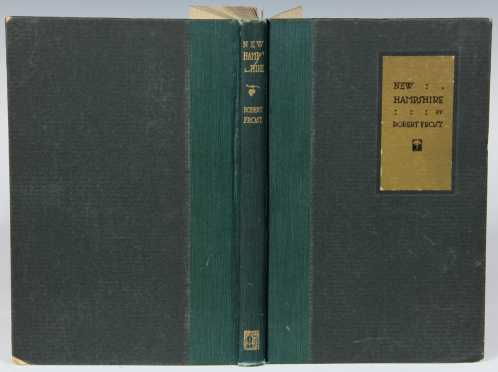 New Hampshire by Robert Frost, signed