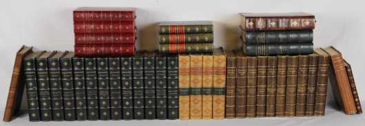 American Literature in fine and decorative leather bindings