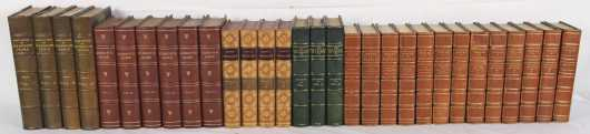 Miscellaneous History in fine and decorative leather bindings