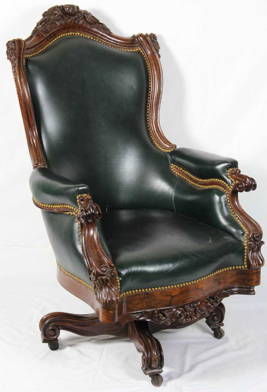 rosewood armchair