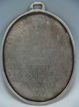Coin Silver Commemorative Pendent