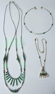 Three Jade Necklaces