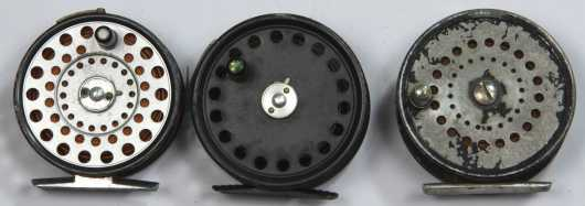 Three Fly Fishing Reels