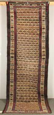 Kurd Caucasian Oriental Rug Runner