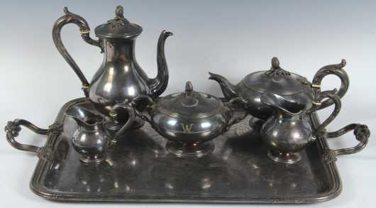 Vintage Christofle Silver Plate Tea/Coffee Set